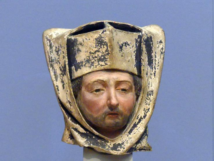 Kopf eines Geistlichen, um 1450