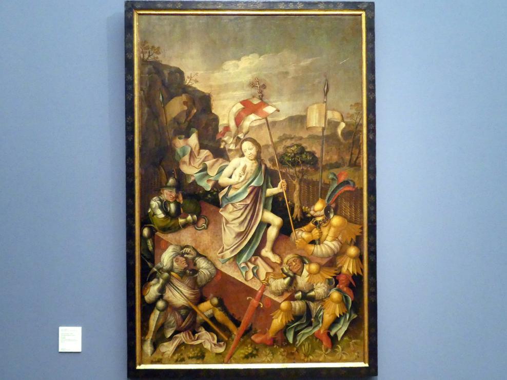Gabriel Angler: Auferstehung Christi, um 1445 - 1446