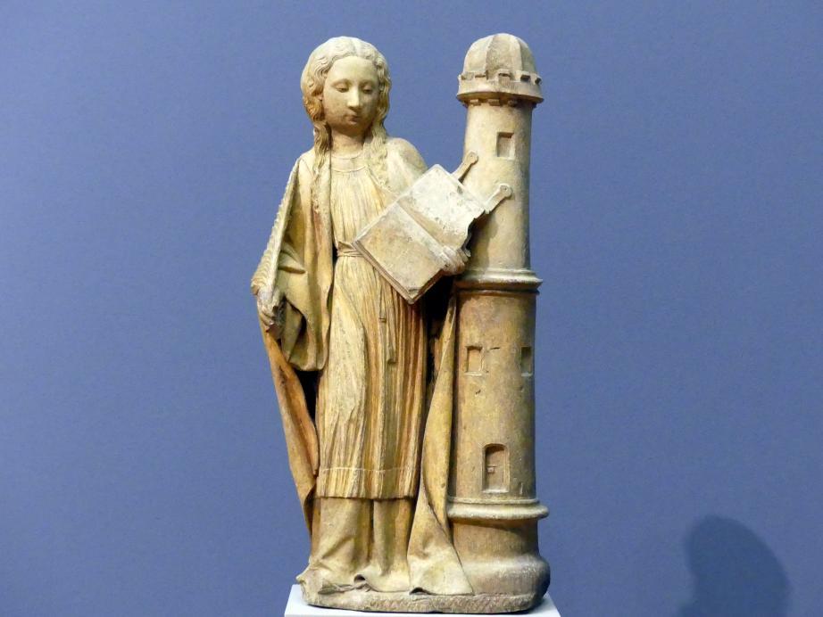 Claus van de Werve: Hl. Barbara, um 1430