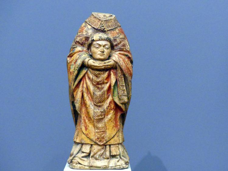 Antoine Le Moiturier (Umkreis): Hl. Dionysius, um 1460 - 1470