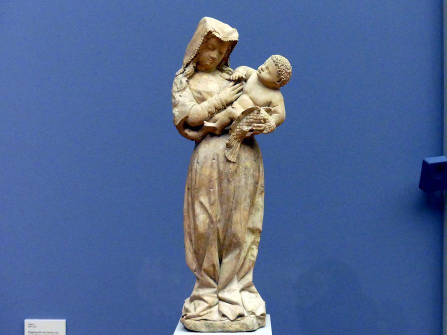 Muttergottes mit dem Papagei, um 1440