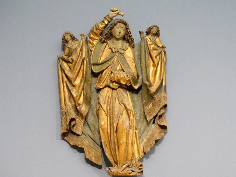 Erzengel Michael als Seelenwäger, um 1500