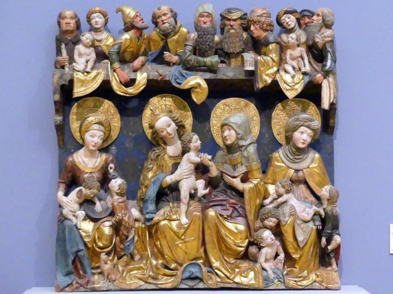 Heilige Sippe, um 1500