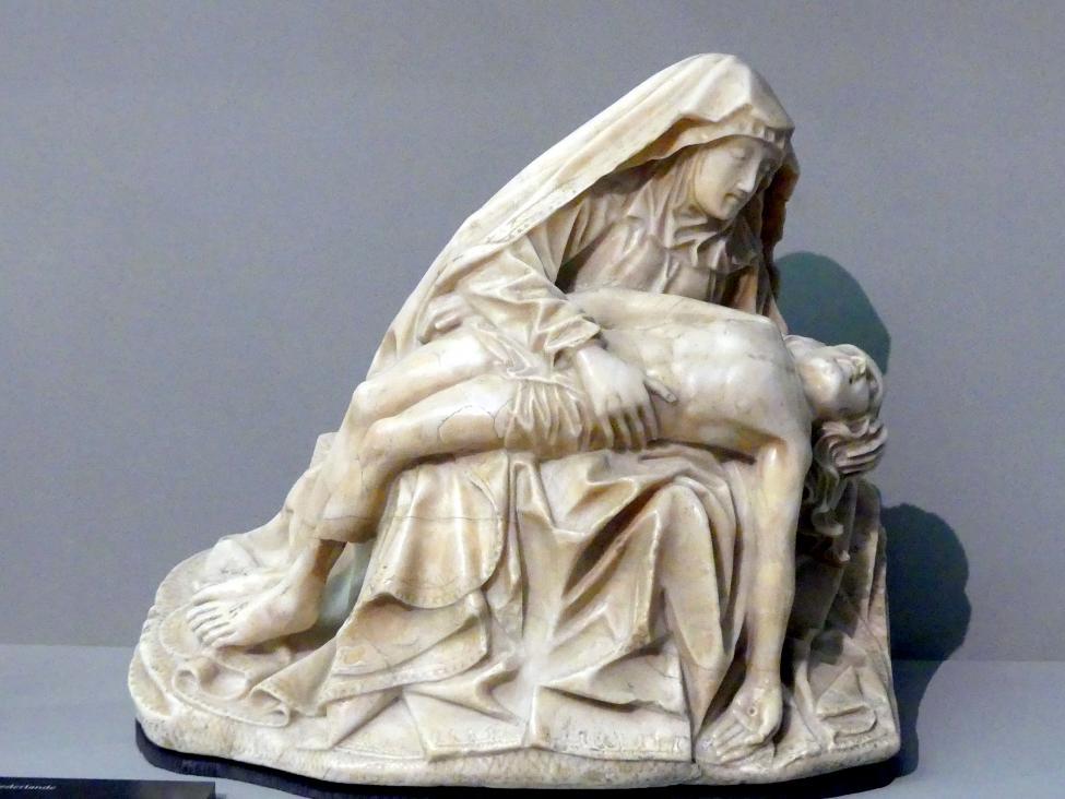 Maria mit dem Leichnam Christi, um 1440