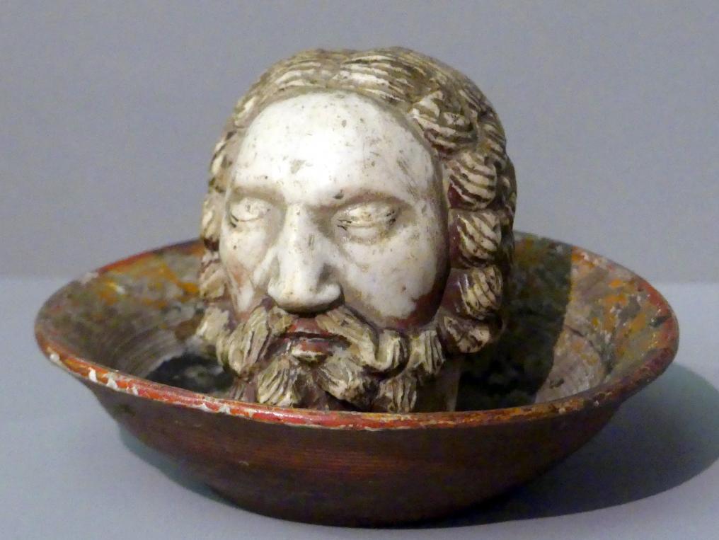 Haupt Johannes des Täufers, um 1430