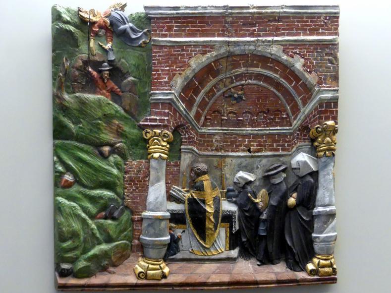 Hans Leinberger: Messe für die Opfer eines Bergwerkunglücks, um 1510 - 1520