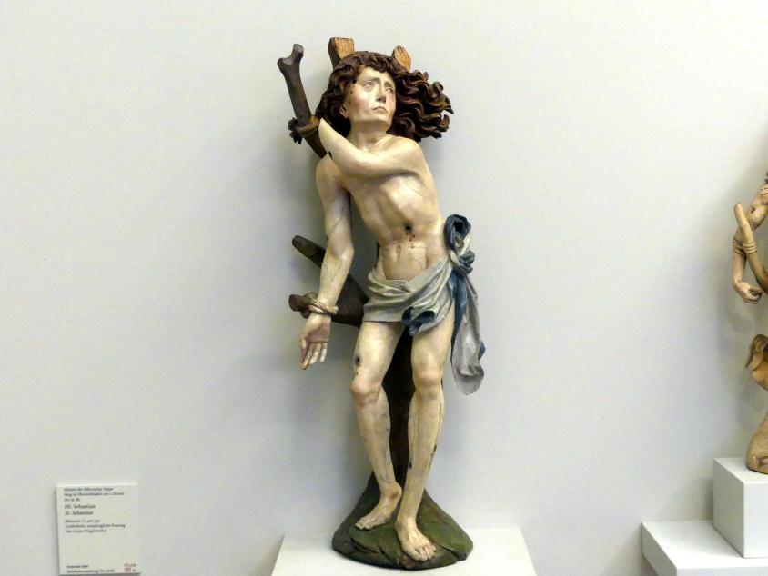Meister der Biberacher Sippe: Hl. Sebastian, um 1515
