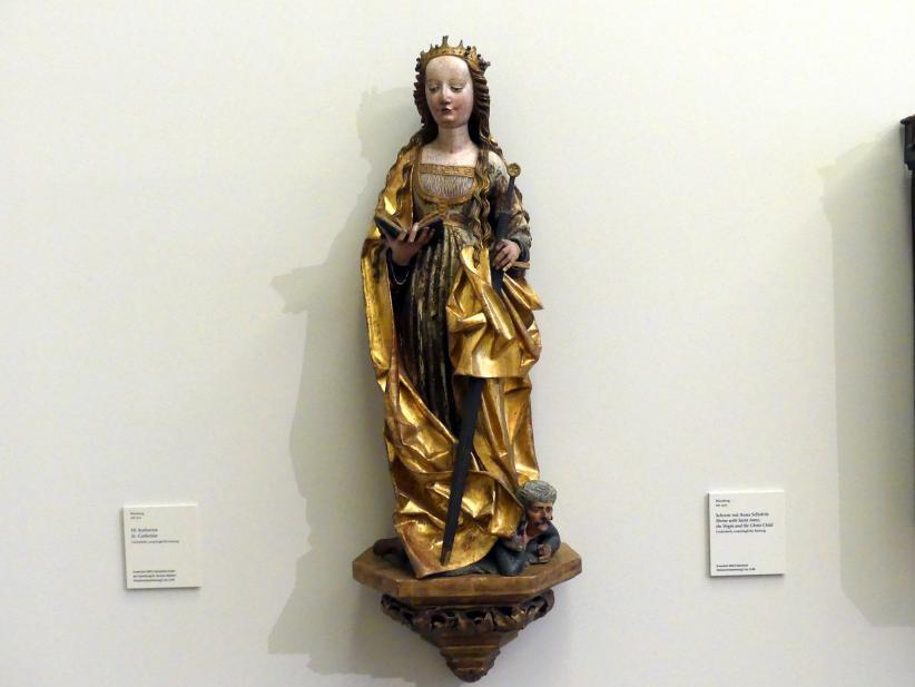 Hl. Katharina, um 1520