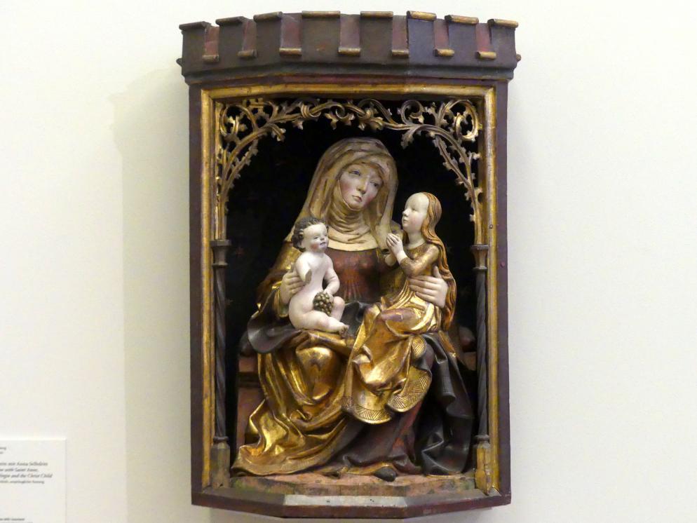 Schrein mit Anna Selbdritt, um 1500