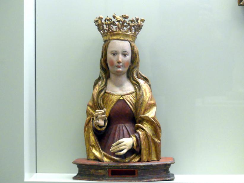 Reliquienbüste einer Heiligen, Beginn 16. Jhd.