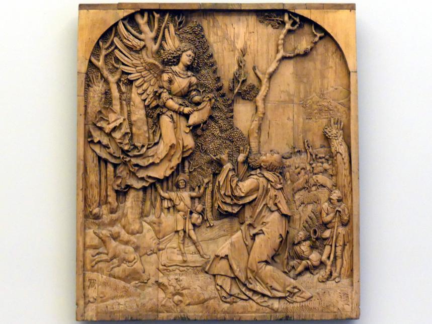 Joachim empfängt die Botschaft des Engels, um 1515