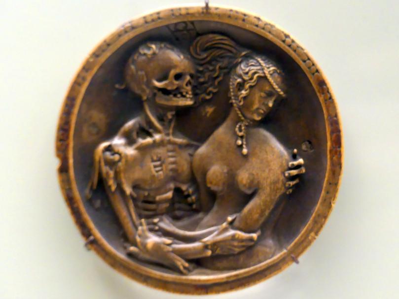 Hans Schwarz: Der Tod und das Mädchen, um 1520