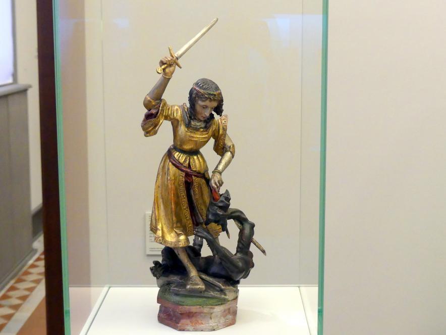 Hl. Georg im Kampf mit dem Drachen, um 1520