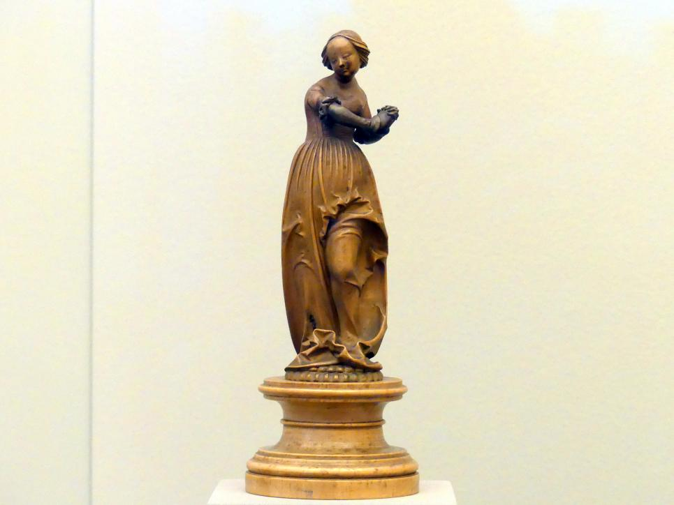 Statuette einer Frau, Beginn 16. Jhd.