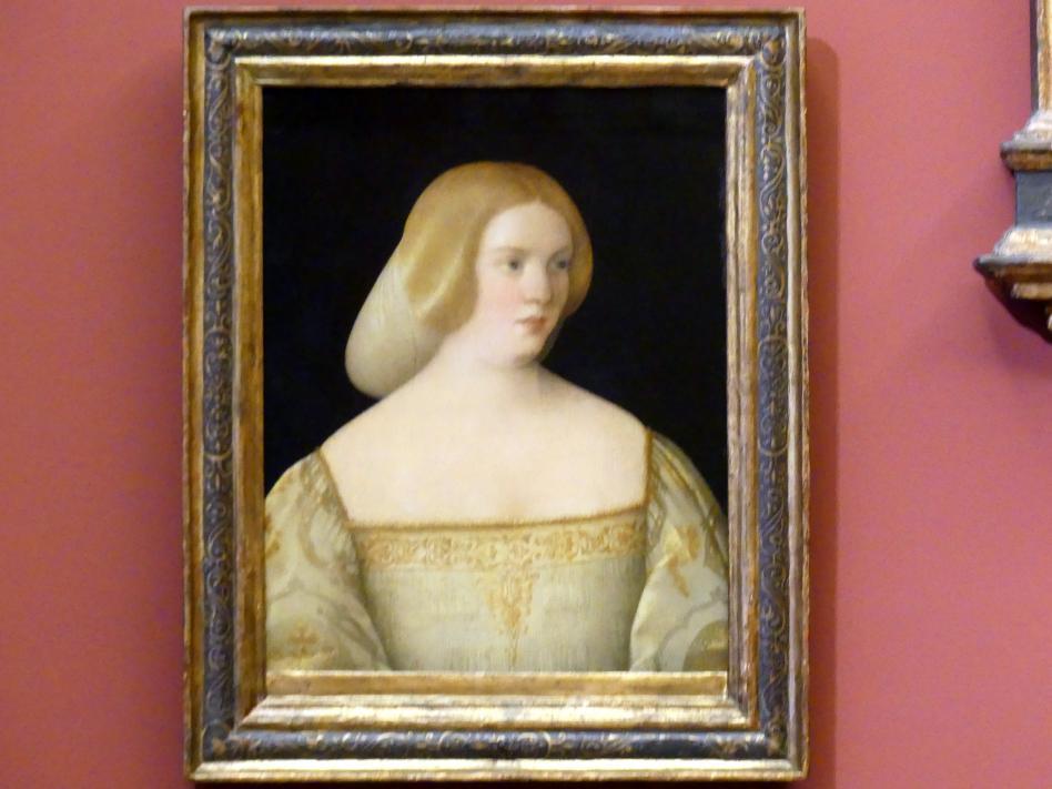 Pietro degli Ingannati: Bildnis einer jungen Frau, um 1520