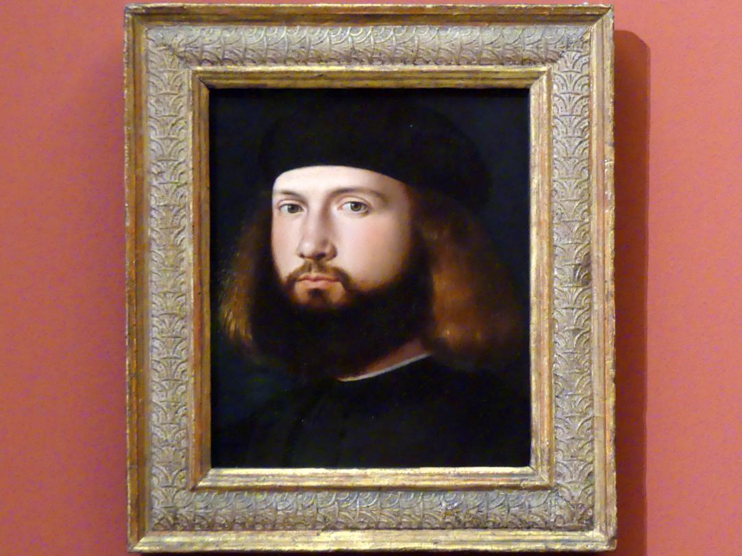 Andrea Previtali: Bildnis eines Mannes, um 1510