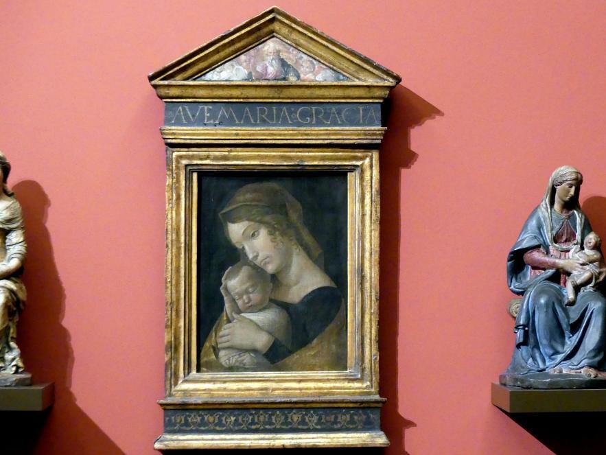 Andrea Mantegna: Maria mit dem schlafenden Kind, um 1465 - 1470