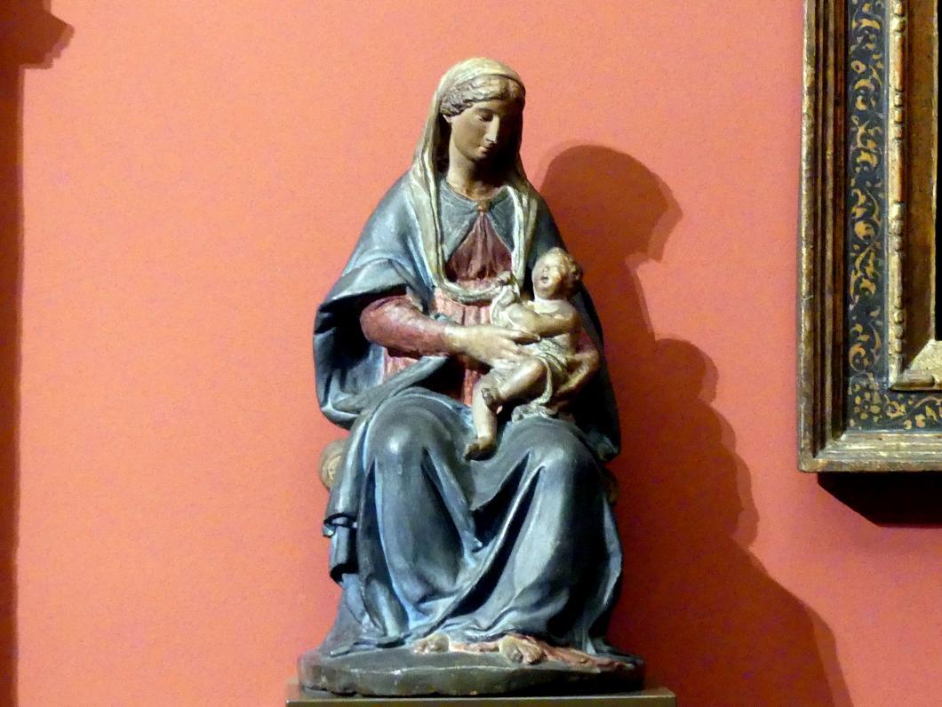 Benedetto da Maiano (Nachfolger): Maria mit dem Kind, um 1500