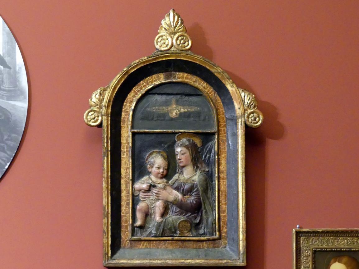 Andrea dell'Aquila (Nachahmer): Maria mit dem Kind, um 1450 - 1460