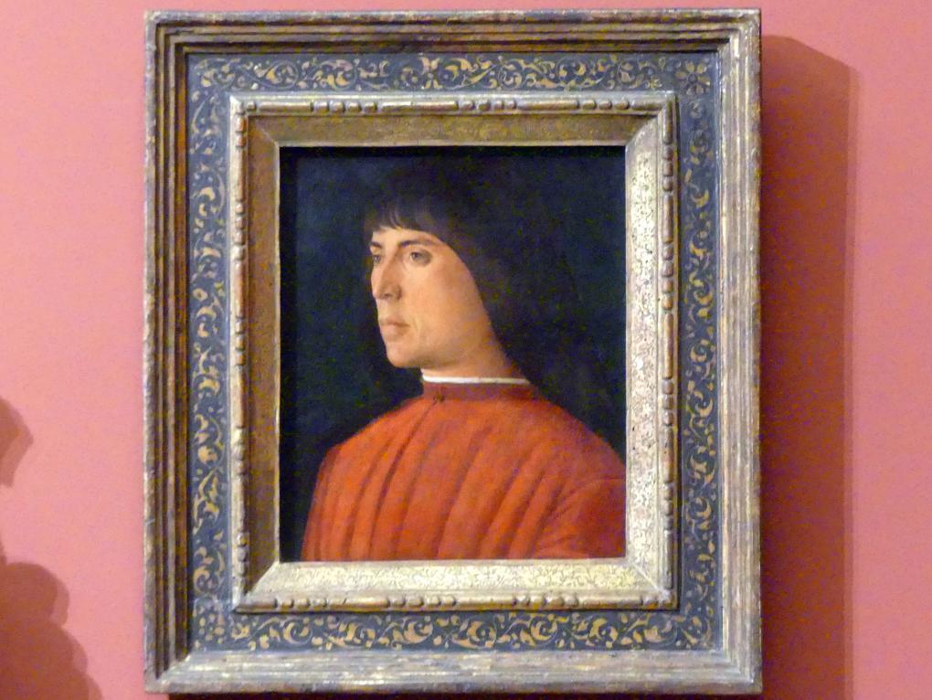 Giovanni Bellini: Bildnis eines Mannes, um 1485 - 1490