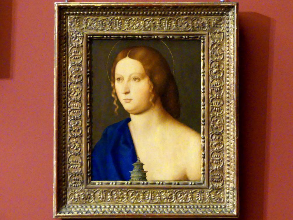 Vincenzo Catena: Bildnis einer jungen Frau als Maria Magdalena, 1511 - 1512