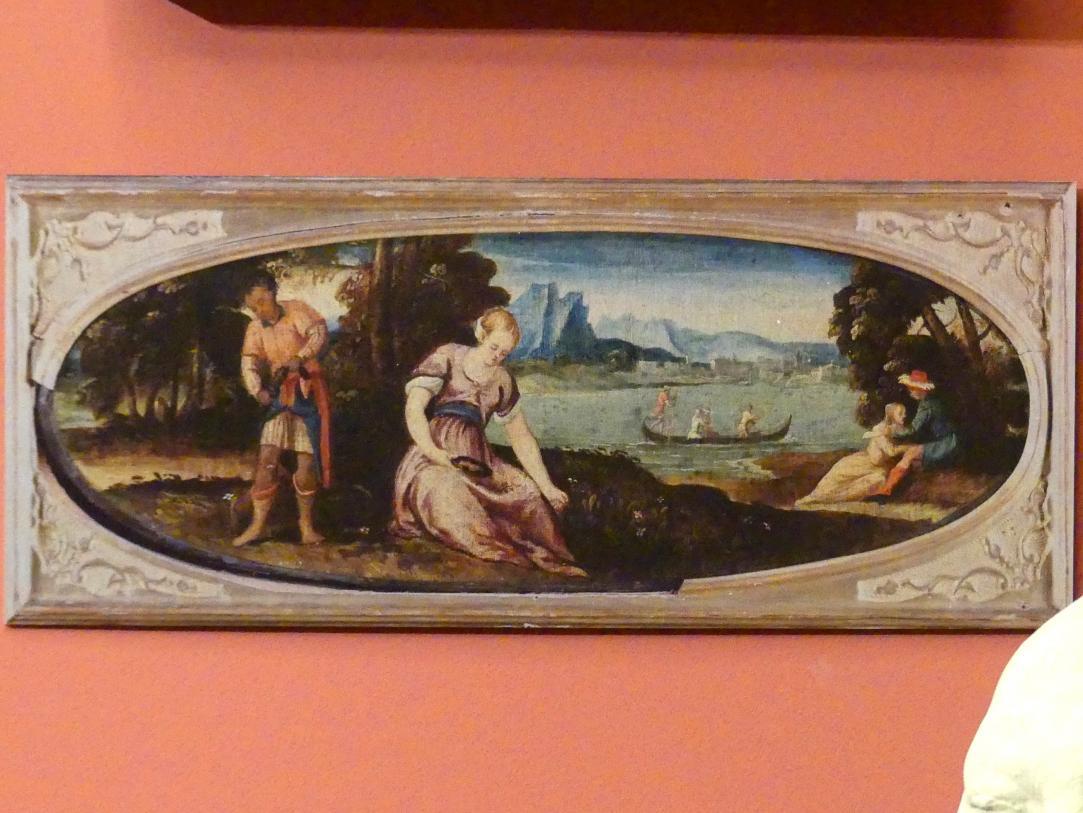 Bonifacio Veronese: Mythologische Allegorie, um 1530