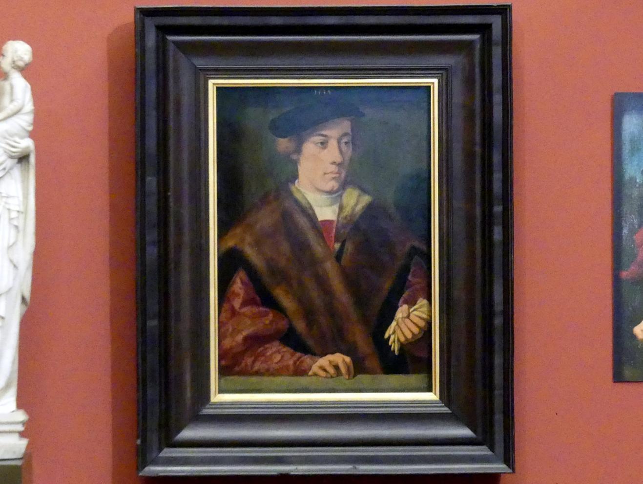 Bartholomäus Bruyn der Ältere: Bildnis eines Mannes, 1534