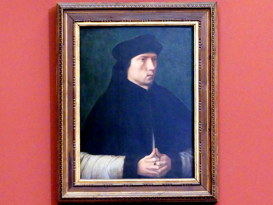 Bildnis eines Mannes, um 1515