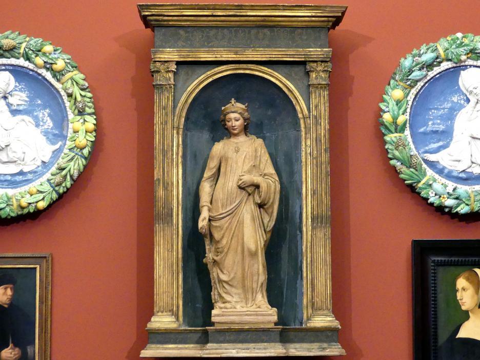 Die hl. Katharina von Alexandrien, um 1490 - 1500