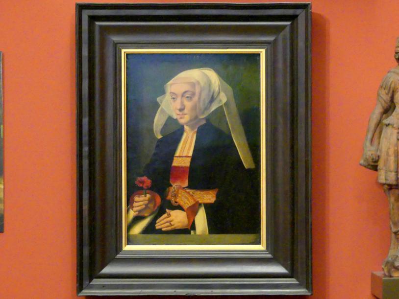 Bartholomäus Bruyn der Ältere: Bildnis einer Frau, um 1534