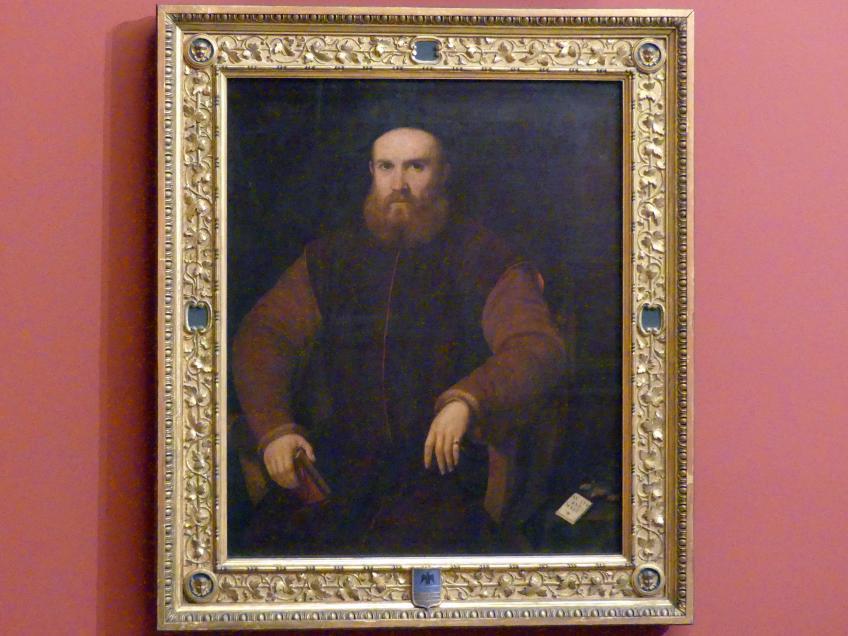 Bildnis eines Mannes, um 1540 - 1550