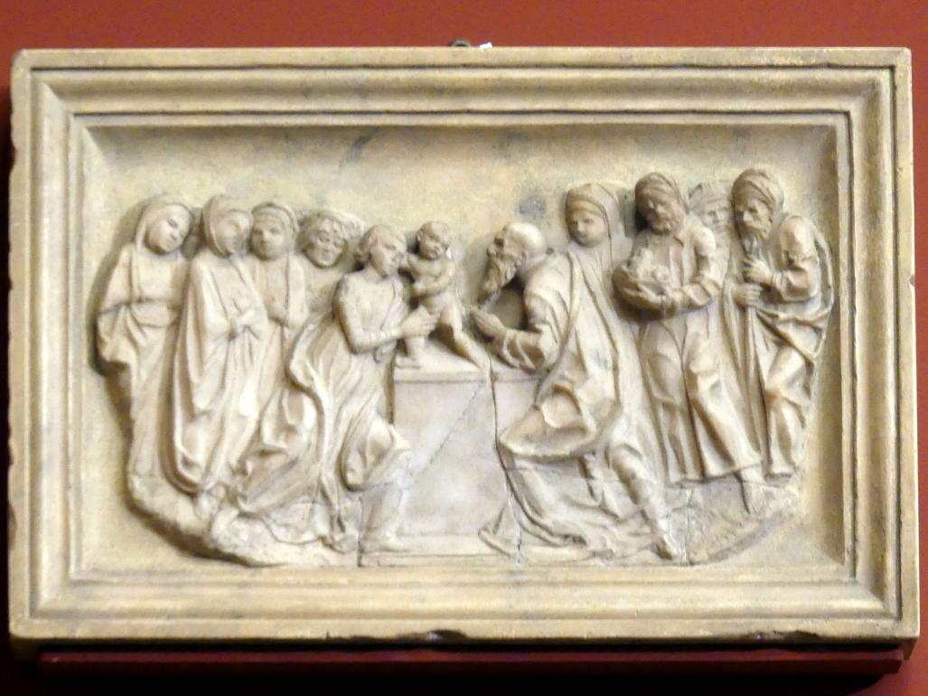 Giovanni Antonio Piatti (Umkreis): Die Darbringung Christi im Tempel, um 1475 - 1480