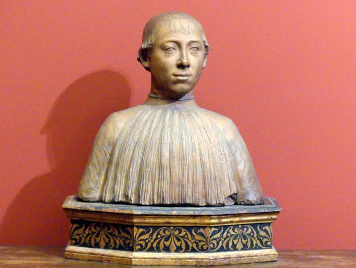 Andrea Bregno (Andrea da Milano): Büste des Kardinals Raffaele Sansoni Riario, um 1478
