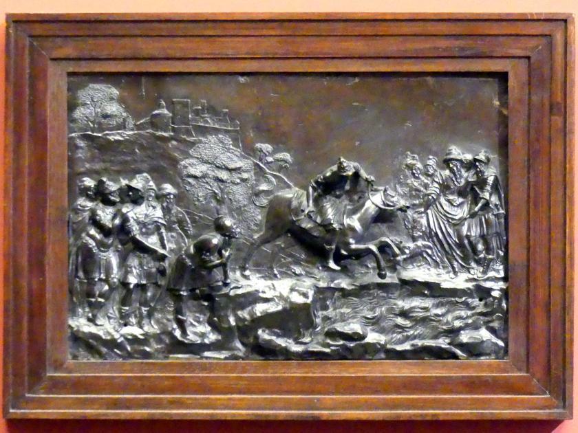 Francesco Fanelli: Der Opfertod des Marcus Curtius, um 1630
