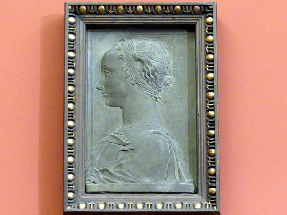 Gregorio di Lorenzo: Bildnis einer jungen Frau, um 1450 - 1470
