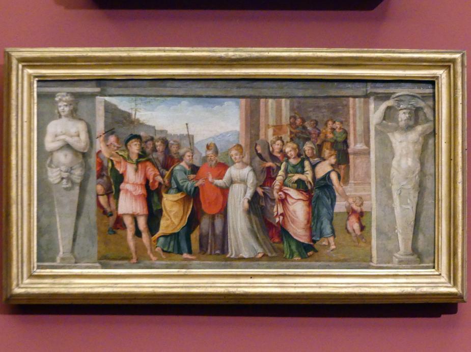 Tommaso Bernabei (Papacello): Die Vermählung der Maria, um 1540