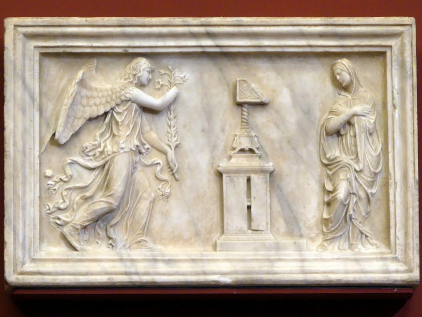 Die Verkündigung an Maria, Beginn 16. Jhd.