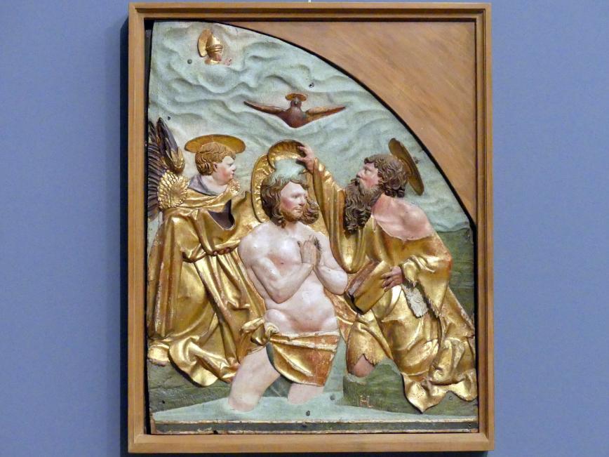 Hans Leinberger: Taufe Christi im Jordan, um 1515