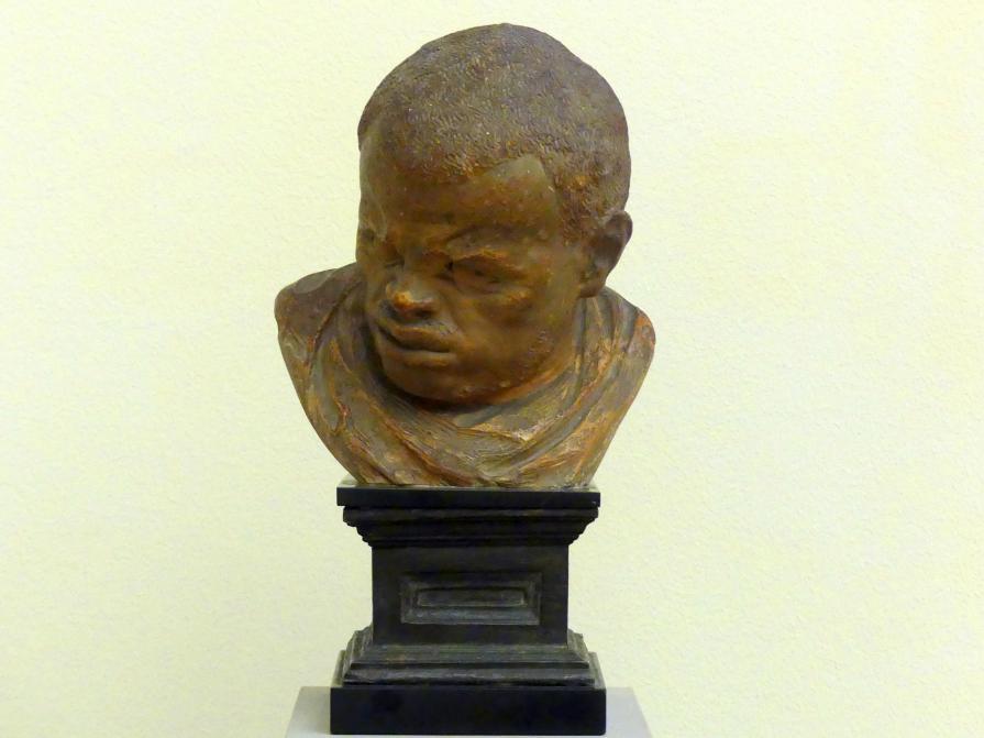 Artus Quellinus der Ältere (Umkreis): Kopfstudie eines Afrikaners, um 1650 - 1660
