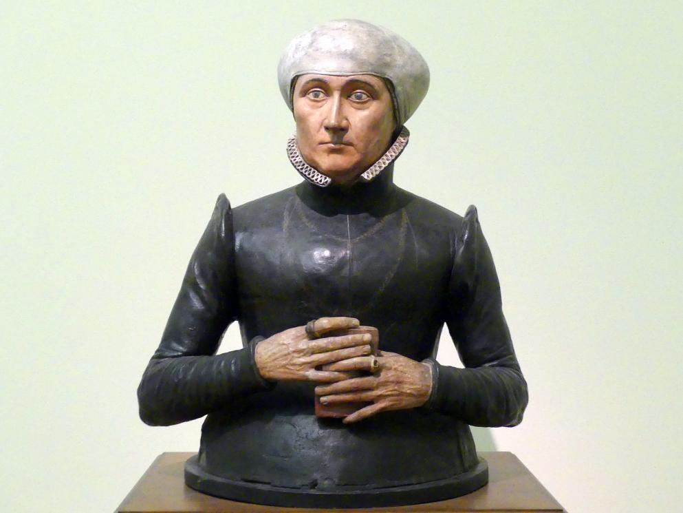 Johann Gregor van der Schardt: Büste der Anna Imhoff, um 1580