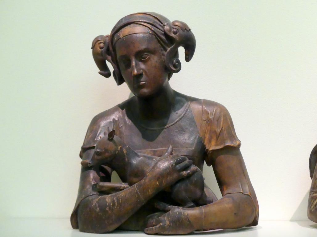 Frau mit Ziegenbock, vor 1518