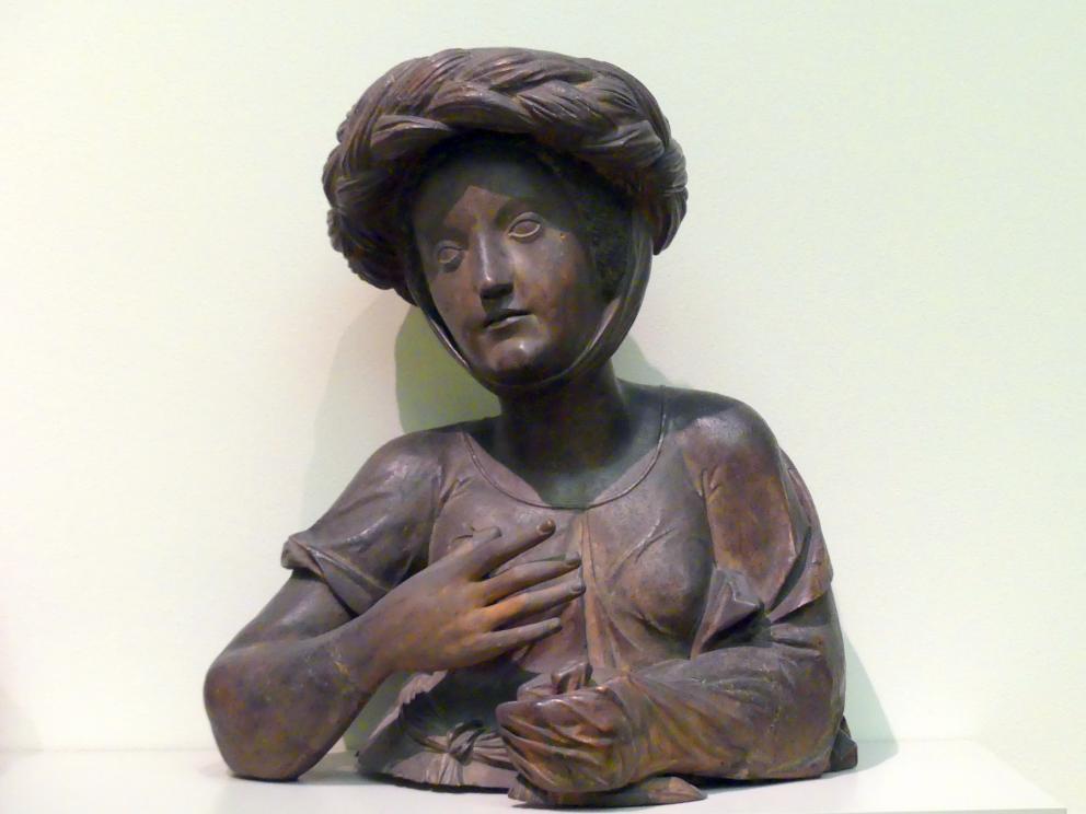Junge Frau mit turbanartiger Haube, vor 1518