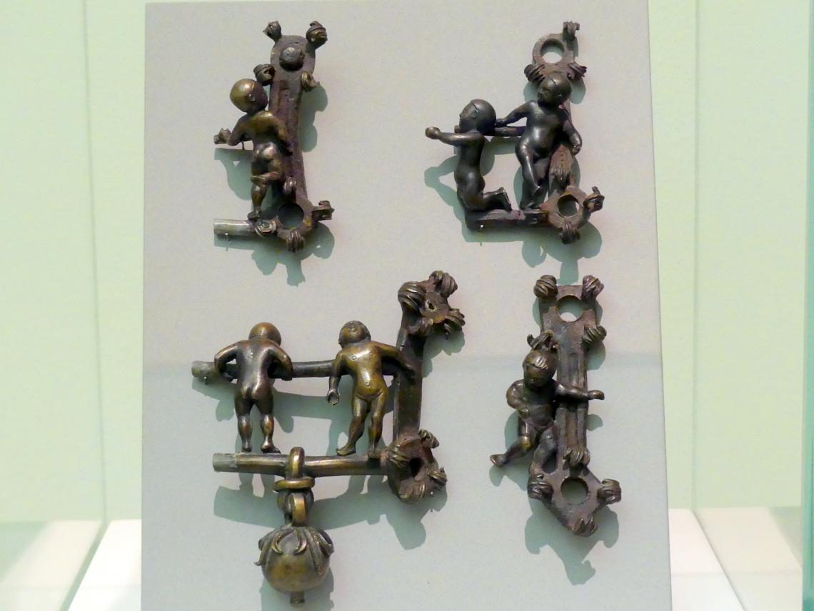 Gilg Sesselschreiber: Vier Zierstücke mit Putten, um 1508 - 1518