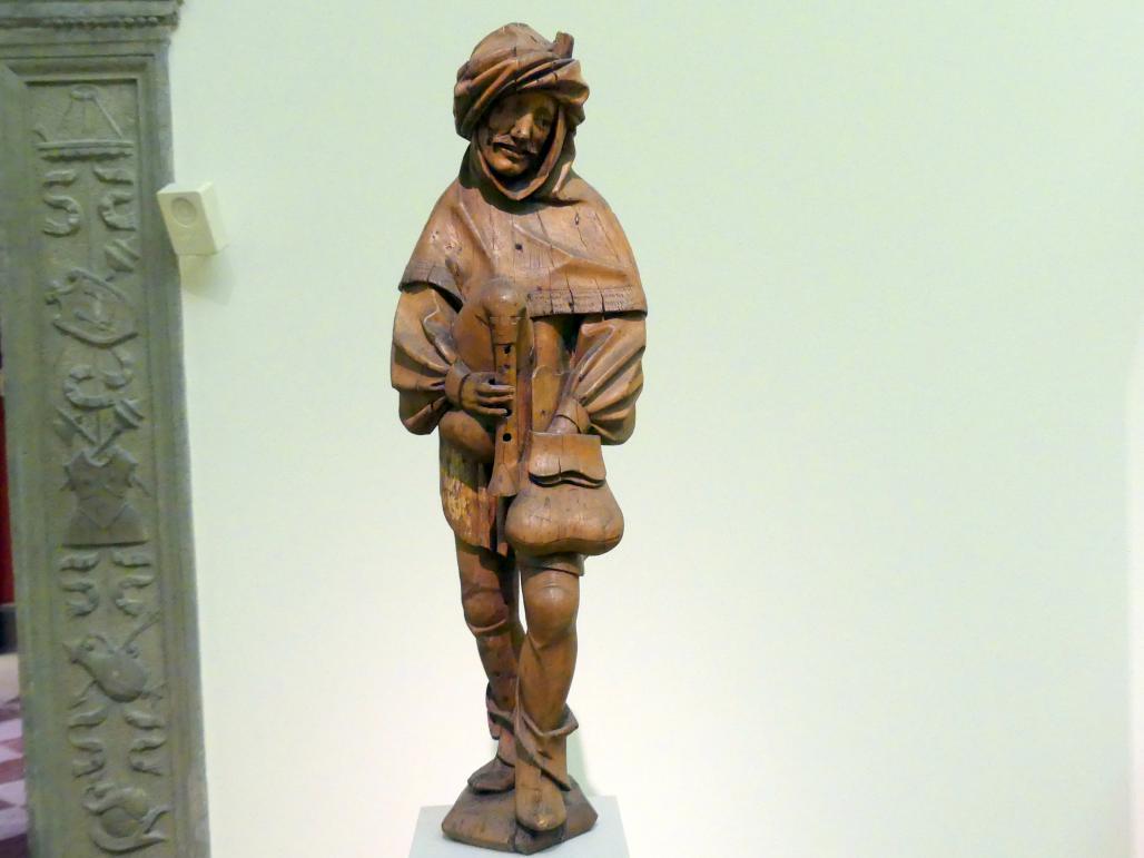 Dudelsackspieler, um 1530 - 1540