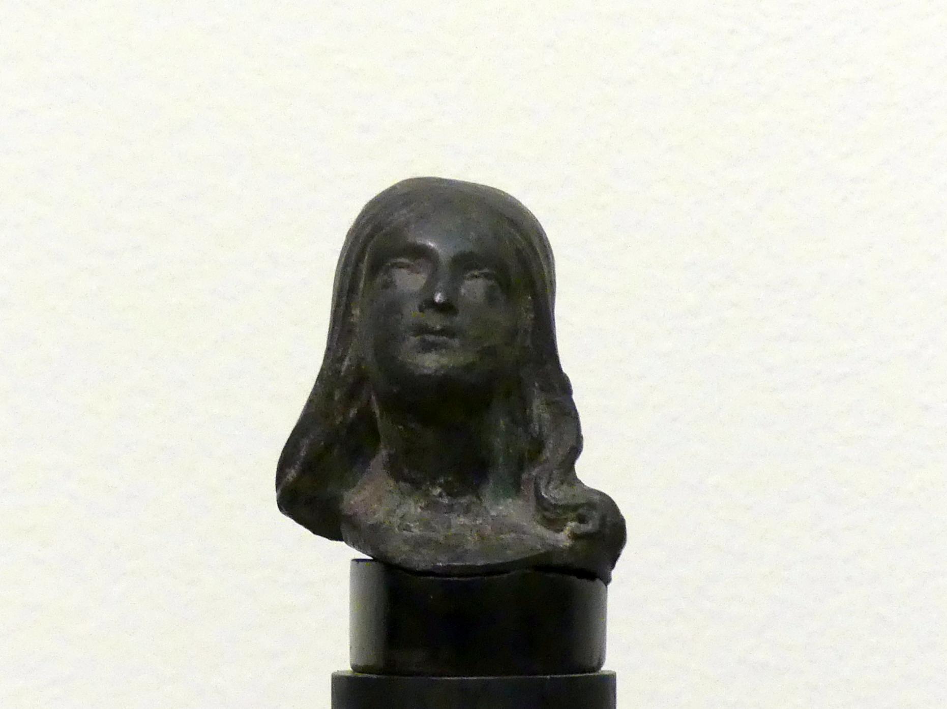 Peter Vischer der Jüngere: Kopf eines Mädchens, um 1525