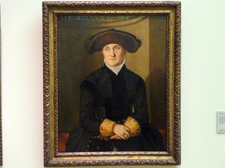 Georg Pencz: Elisabeth Schwetzer, 1544 - 1545