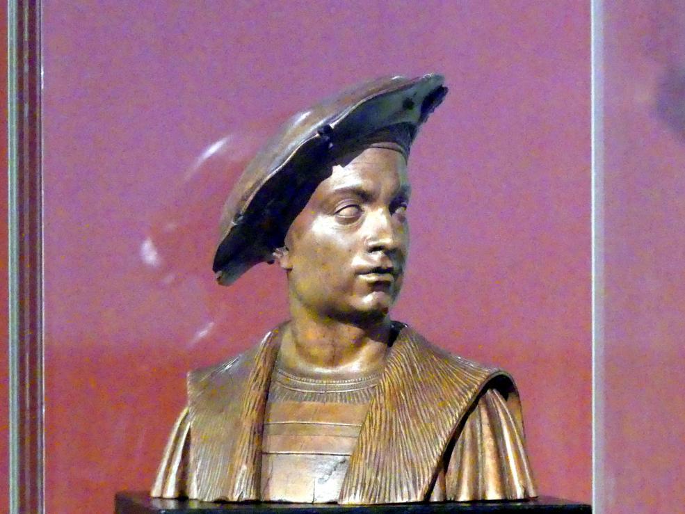 Conrat Meit: Büste des Philibert le Beau, Herzog von Savoyen, vor 1523