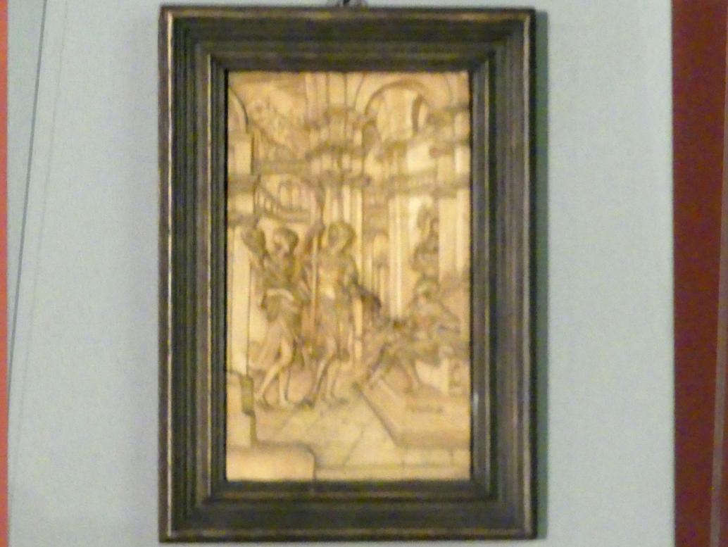 Sebastian Loscher: Sinnbildliche Darstellung des mächtigen Kaufherrn Jacob Fugger, um 1525