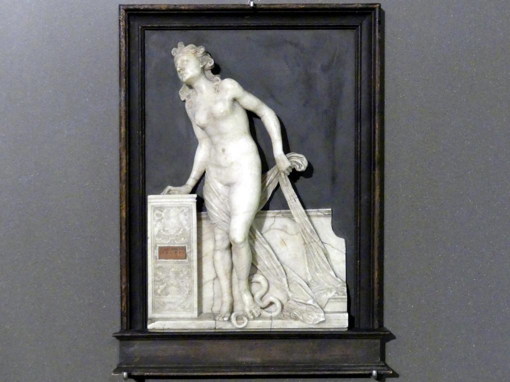 Monogrammist PE (vielleicht Peter Ehemann): Kleopatra/Eurydike, 1532