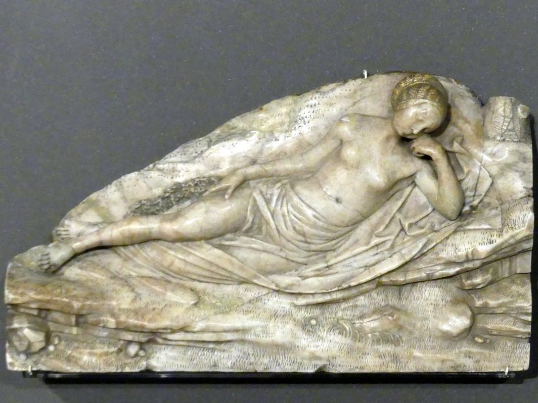 Monogrammist BG: Schlafende Nymphe, um 1535